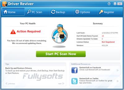 Download Driver Reviver 5.3.0.14 Incl. Crack