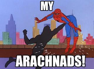 spiderman funny arachnads