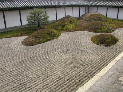 Arte y jardiner a jardines zen - Jardines sin mantenimiento ...