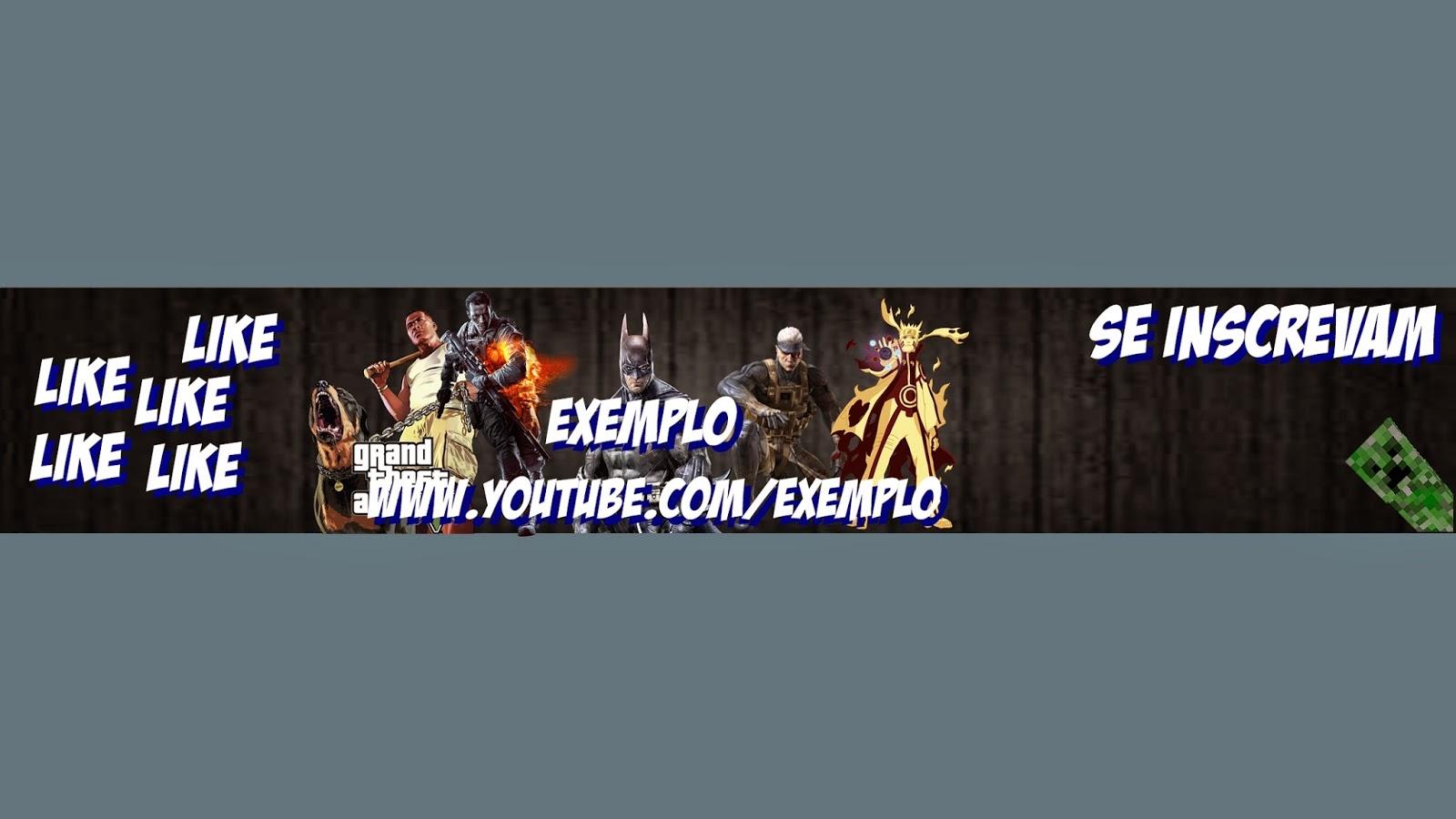 Free Youtube Channel Art Maker Free Youtube Channel Art