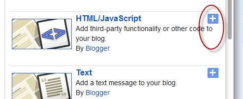 random posts blogger