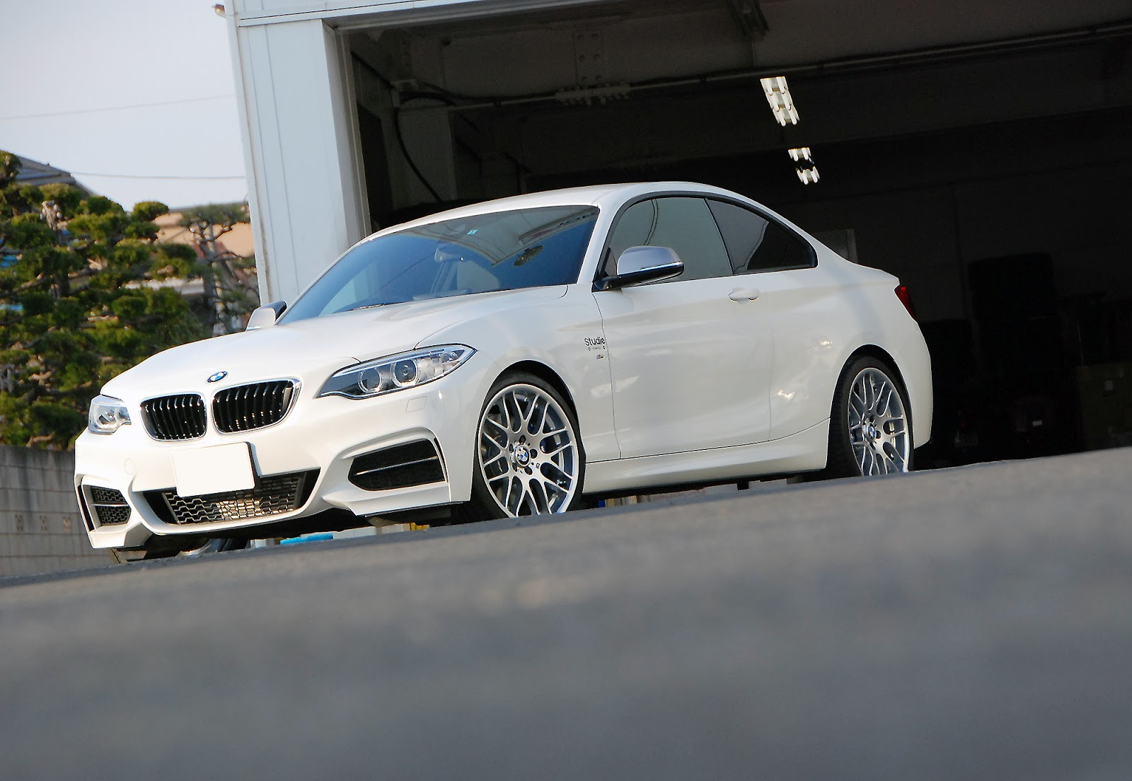 BMW M235i With E46 M3 CSL Wheels Looks Pretty Kewl Dont You Think