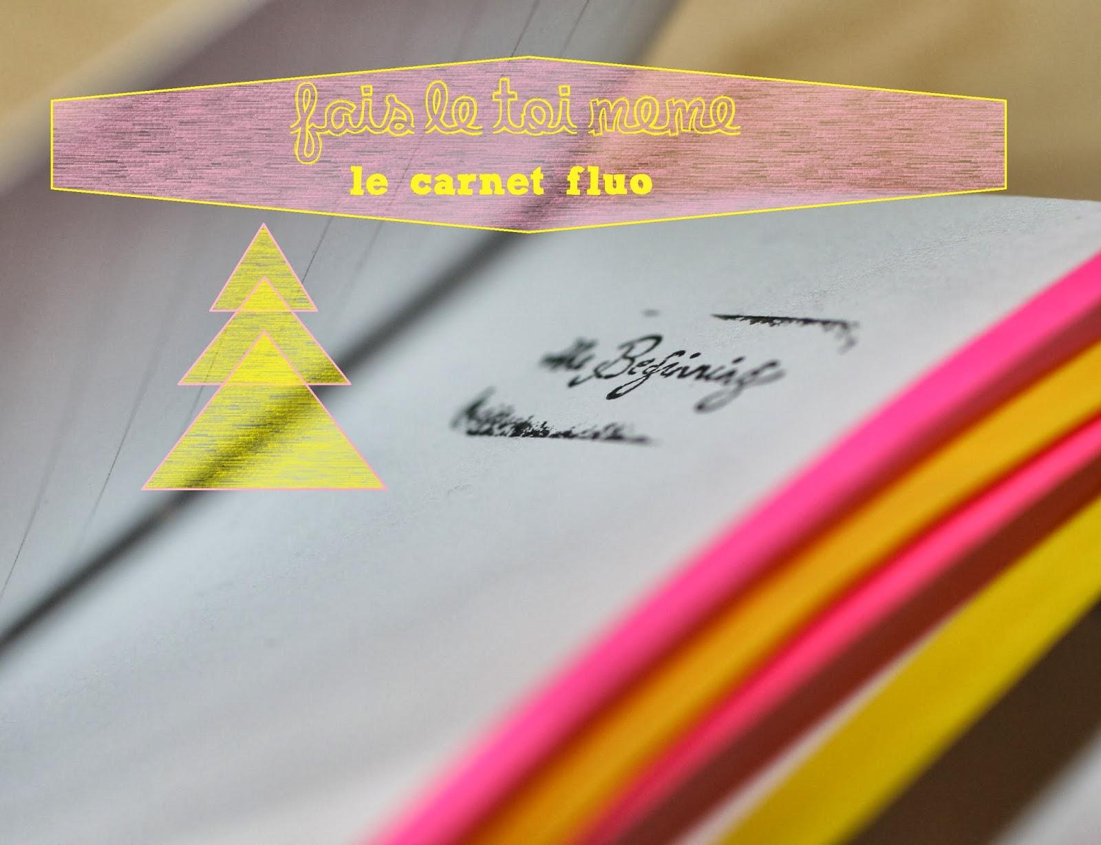 Fabriquer un petit carnet un atelier au fond des bois - Fabriquer un carnet ...