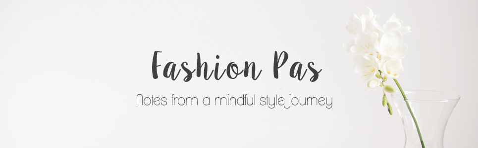 Notes from a Mindful Style Journey