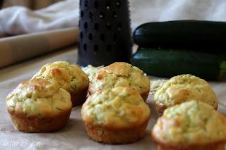 Cheese & Zucchini Muffins