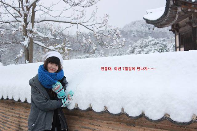 Thời gian ở Hàn Quốc, Nga rất chịu khó tìm hiểu văn hóa của đất nước này