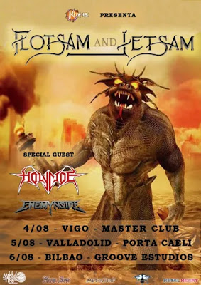 FLOTSAM AND JETSAM EN ESPAÑA