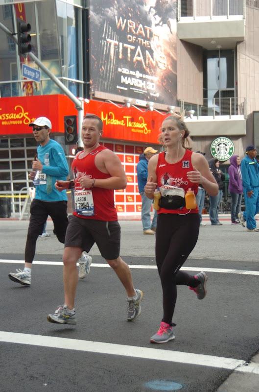 T2 Runners LA Marathon 2012