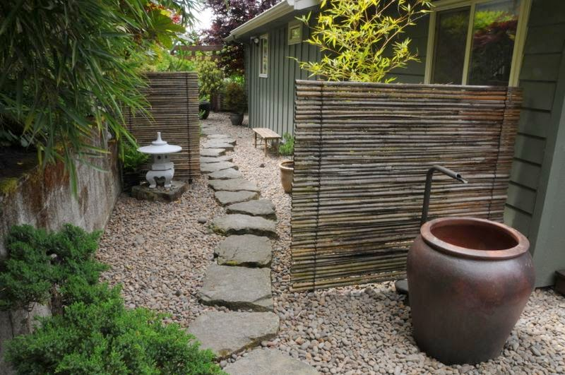 Arte y jardiner a principios para el dise o del jard n - Como hacer un jardin japones ...