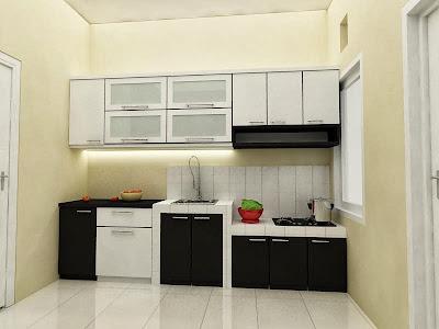 gambar dapur minimalis rumah type 36