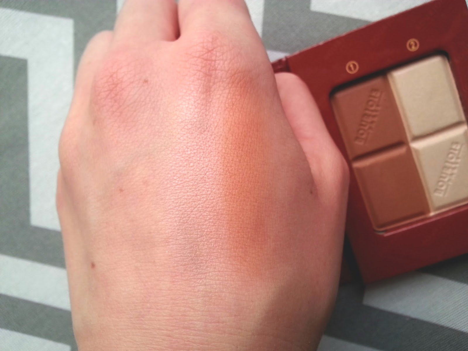 Bourjois Bronzing Powder & Highlighter Duo Review Swatches