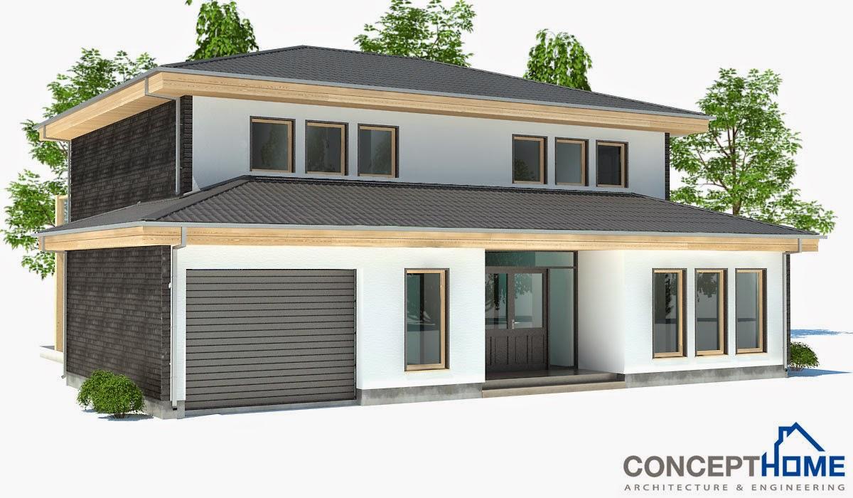 proyectos de casas modernas proyecto de casa moderna ch176 On proyectos de casas modernas