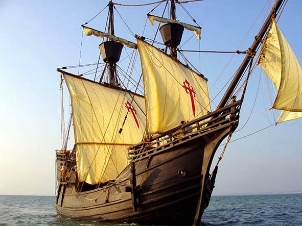 Replica Galleon Crosses The Atlantic The Islander