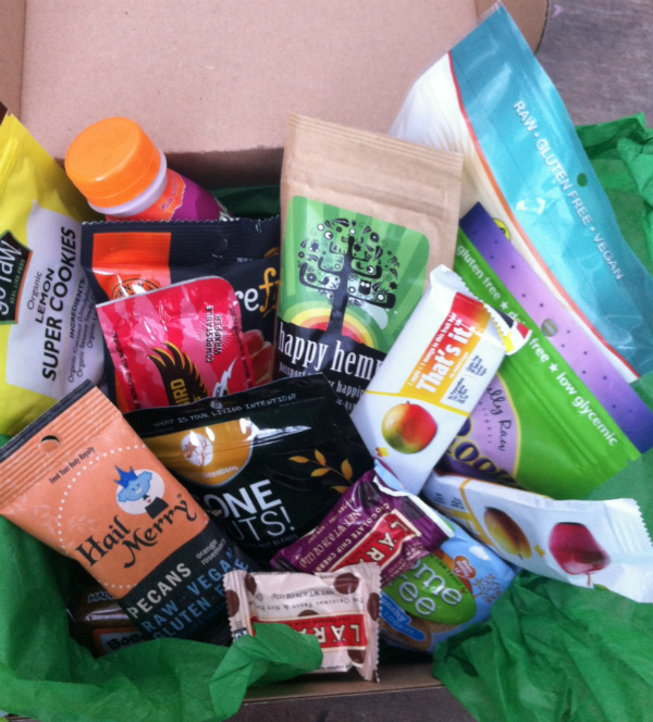 Healthy Surprise September 2012 Review - Vegan and Gluten and Dairy Free Subscription Boxes