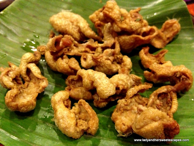 Chicken skin At Bacolod Chicken House