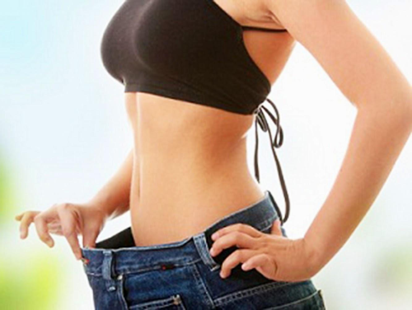 Como puedo bajar de peso en el vientre