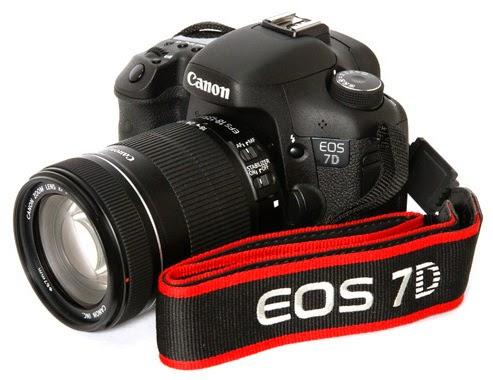 Spesifikasi dan Harga Kamera DSLR Canon EOS 7D