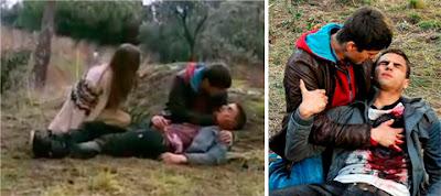 Muerte del personaje de Maxi Iglesias en 'Los Protegidos'