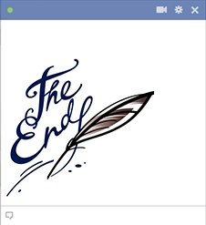 The End Facebook Emoticon