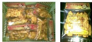 Kemasan Keripik Nangka. Pemesanan hub.Kontak Keripik Buah Indramayu - Ali Syarief 0877-8195-8889 - 081320432002