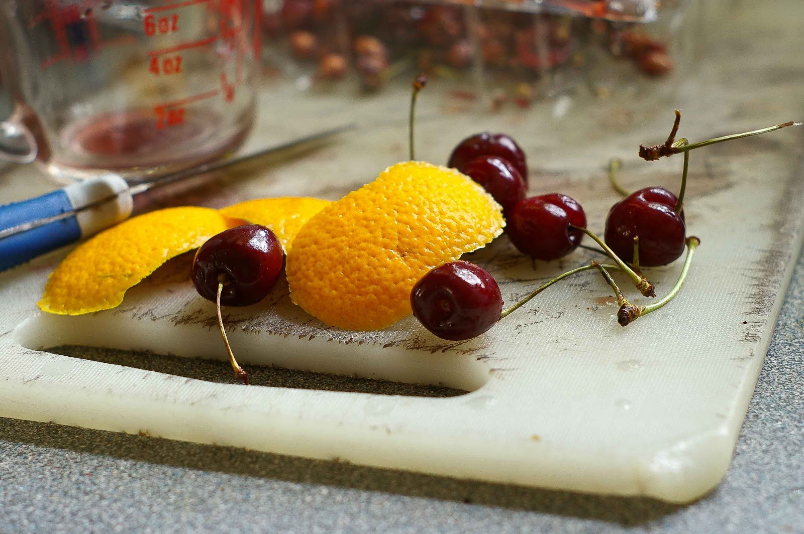 how to take pits out of cherries
