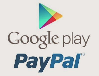 GOOGLE PLAY STORE PAYPAL