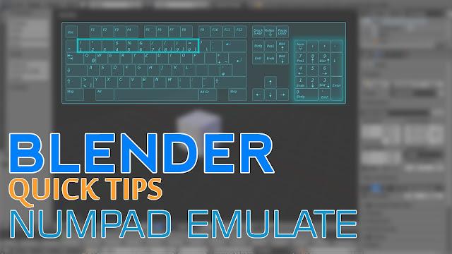 keyboard shortcut blender