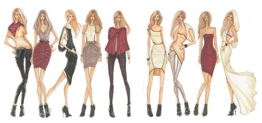 Inspiracion dise o de modas conceptos y propuestas for Dibujos de disenos de moda