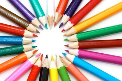 Foto lapices de colores