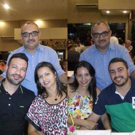 Jorge e Sorayda, Ceylla Fernanda e Rodrigo.