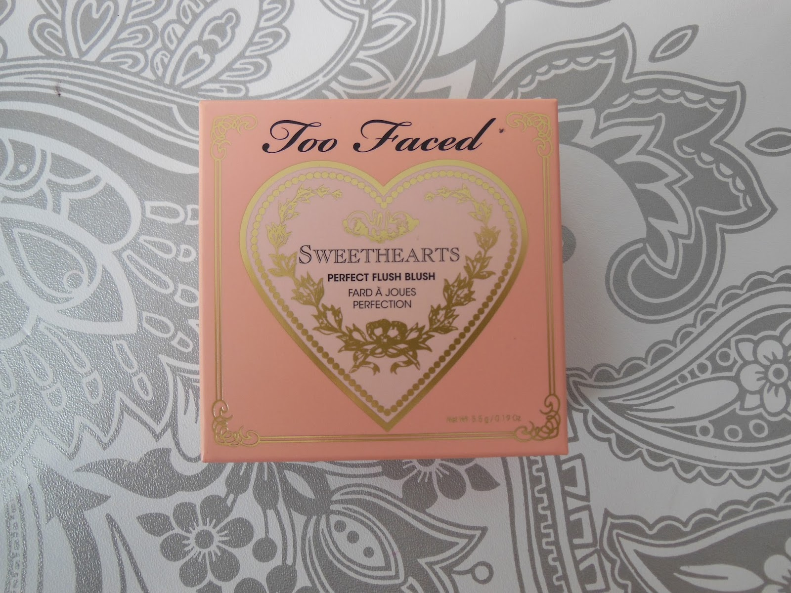 Too Faced Peach Beach Sweetheart blusher