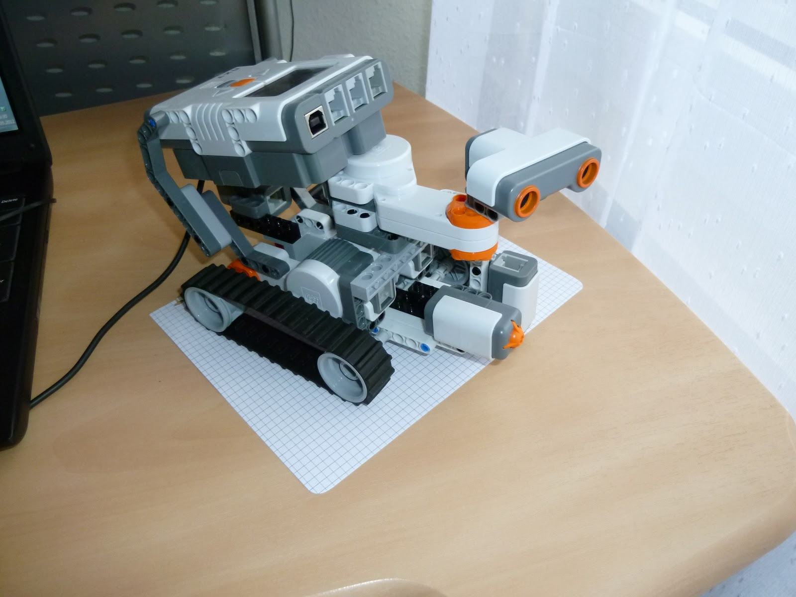 Notes On Technology Rover Explorer Robot Building Instructions