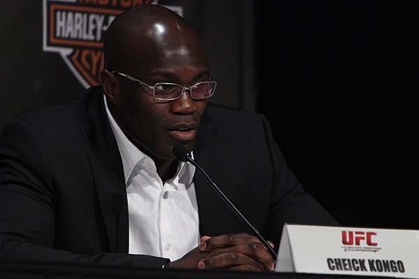 ufc mma heavyweight fighter cheick kongo press picture image img pic
