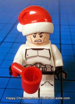 lego star Wars Advent Calendar day 4 Angry stormtrooper minifig  with mug