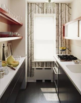 Papel pintado cocinas ideas incluso el mobiliario de for Mobiliario cocina barato
