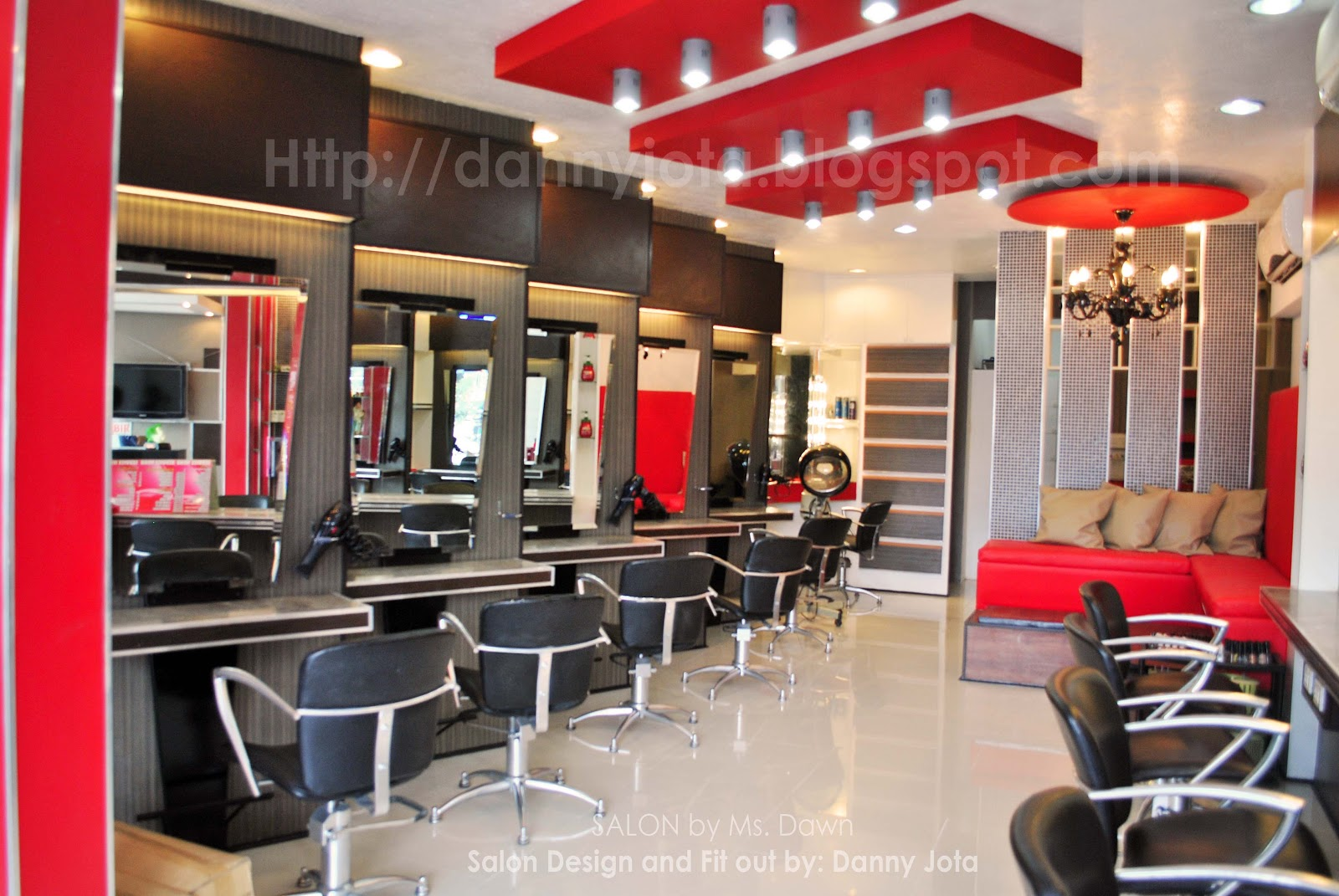 Danny torres jota djota designtech new salon design and for Photos salon design