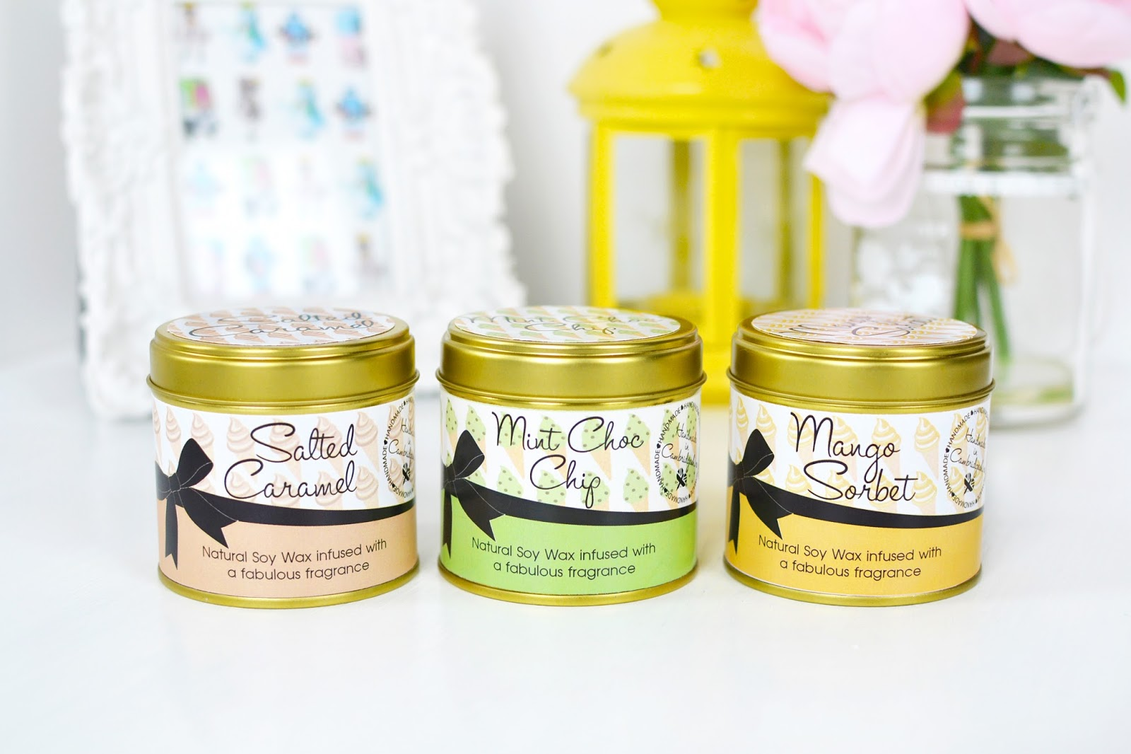 ice cream inspired candles