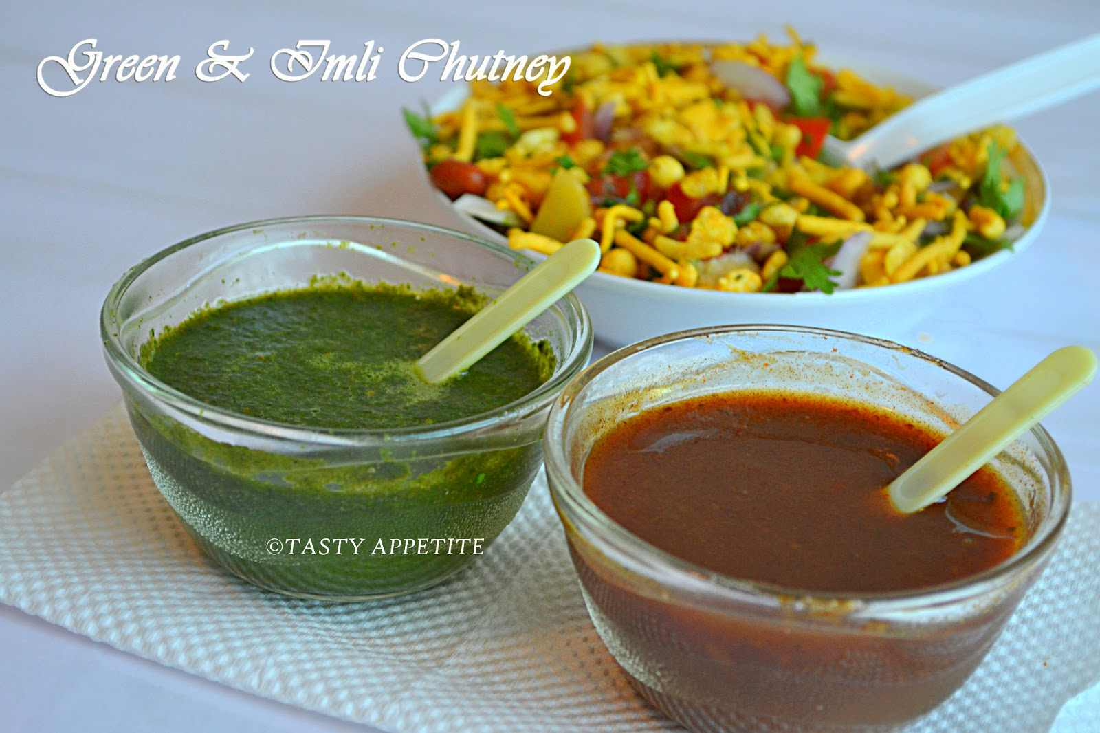 dates tamarind green chutney