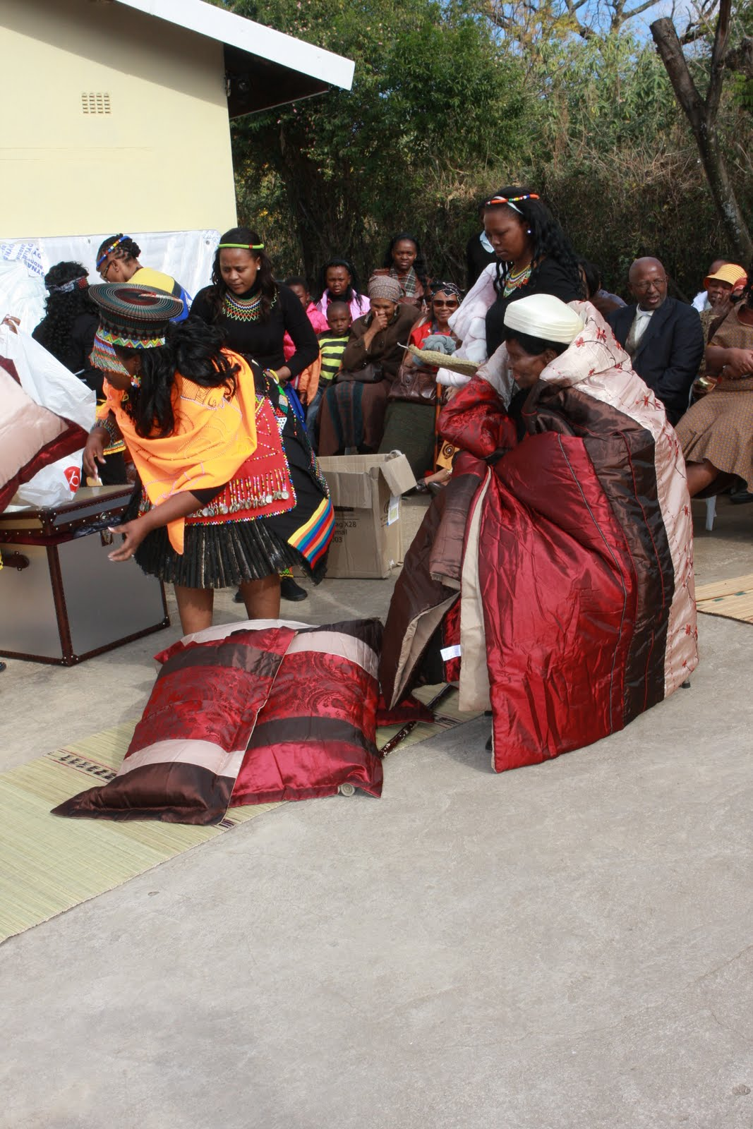 traditional zulu wedding 08062018  much of traditional zulu cuisine is based on starches, particularly sorghum and maize each of these are commonly prepared either as a thick, nutritious.