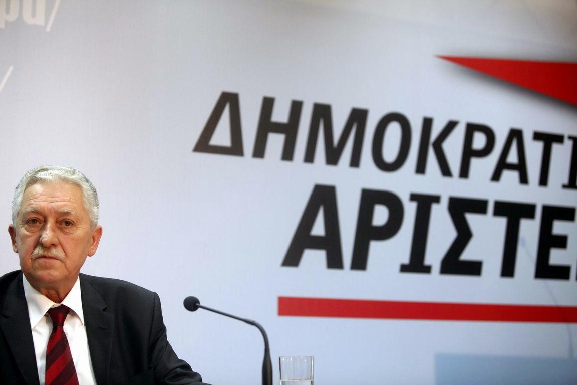Συνέντευξη του προέδρου της ΔΗΜΑΡ, Φ. Κουβέλη στην 79η Διεθνή Έκθεση Θεσσαλονίκης.
