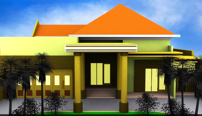 model atap rumah