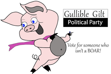 Talk show host Prairie Ann Smacovich becomes the Gullible Gilt Party nominee for President!