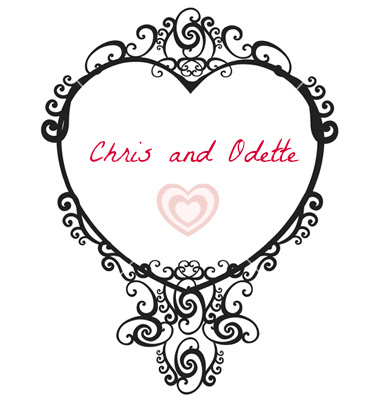 Chris,Odette,heart
