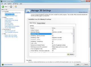 برنامج لتعريف اي كارت نفيديا NVIDIA ForceWare Drivers