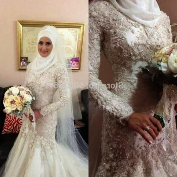 foto gaun pengantin muslim artis
