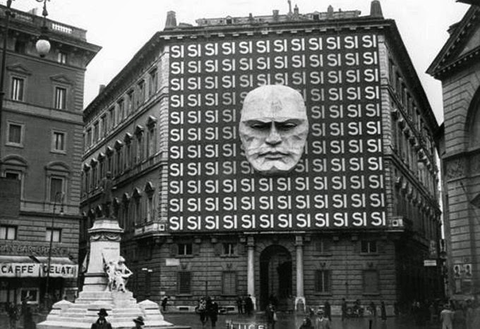 Ultimate Collection Of Rare Historical Photos. A Big Piece Of History (200 Pictures) - HQ of Italian Fascist party