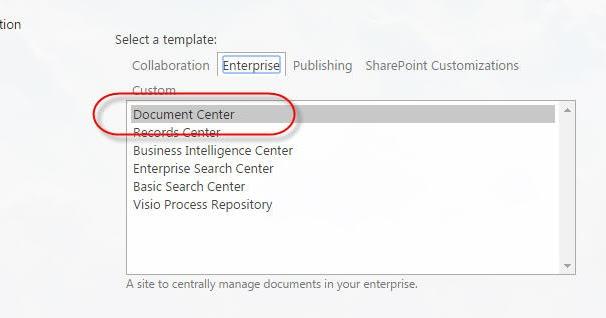 sharepoint buzz  document center in sharepoint 2013