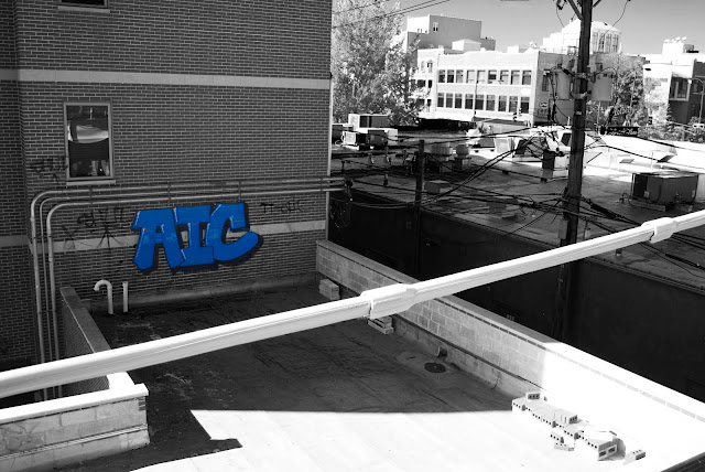 AIC SHUT Chicago Graffiti