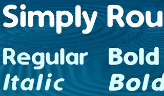Simply Rounded Font Family