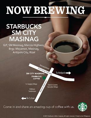 Starbucks SM City Masinag
